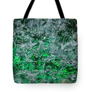 Phone Case - Liquid Flame - Green 2 - Featured 2 Tote Bag by Alexander Senin
