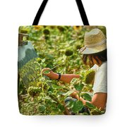 Picture in a Picture Tote Bag by Heiko Koehrer-Wagner