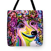 Picture Perfect Poodle Tote Bag by Eloise Schneider
