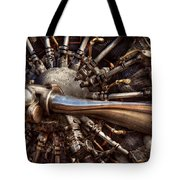 Pilot - Plane - Engines At The Ready  Tote Bag by Mike Savad