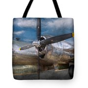 Pilot - Plane - The B-29 Superfortress Tote Bag by Mike Savad