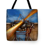 Pilot - Prop - They don't build them like this anymore Tote Bag by Mike Savad