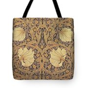 Pimpernel Wallpaper Design Tote Bag by William Morris