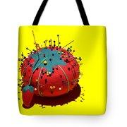 Pin Cushion Tote Bag by Tom Mc Nemar