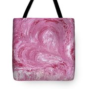 Pink Color Of Energy Tote Bag by Ania M Milo