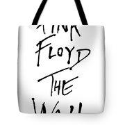 Pink Floyd No.01 Tote Bag by Caio Caldas