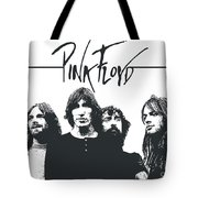 Pink Floyd No.05 Tote Bag by Caio Caldas