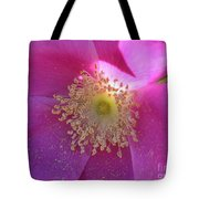 Pink Ocean Wildflower Tote Bag by Neal  Eslinger