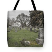 Pioneer Resting Place Tote Bag by Jean Noren