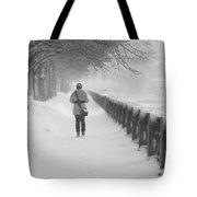 Pioneering The Alley - Featured 3 Tote Bag by Alexander Senin