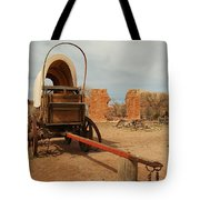 Pionner Wagon Tote Bag by Jeff Swan