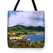 Pirates Cove Tote Bag by Kurt Van Wagner