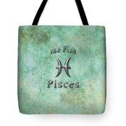 Pisces Feb 19 To March 20 Tote Bag by Fran Riley