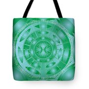 Pisces Tote Bag by Sarah  Niebank