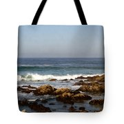 Pismo Beach Seascape Tote Bag by Barbara Snyder