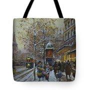Place De La Republique Paris Tote Bag by Eugene Galien-Laloue