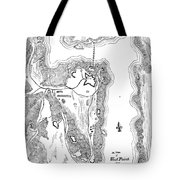 PLAN OF WEST POINT, 1779 Tote Bag by Granger