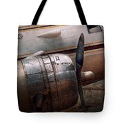 Plane - A little rough around the edges Tote Bag by Mike Savad