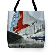 Plane Tail Wing Eastern Air Lines Tote Bag by Paul Ward