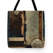 Planetary Shift #1 Tote Bag by Carol Leigh