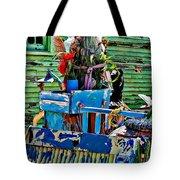 Plastic Jesus Tote Bag by Steve Harrington