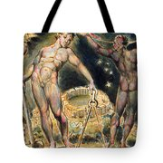 Plate 100 From Jerusalem Tote Bag by William Blake