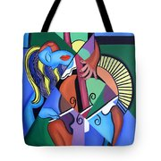 Play Me Tote Bag by Anthony Falbo