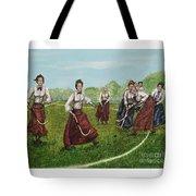 Play Of Yesterday Tote Bag by Linda Simon