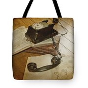 Please Hold Tote Bag by Nomad Art And  Design
