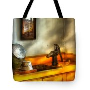 Plumber - The Wash Basin Tote Bag by Mike Savad