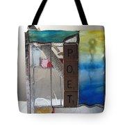 Poet Windowsill Box Tote Bag by Karin Thue