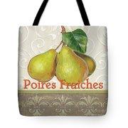 Poires Fraiches Tote Bag by Debbie DeWitt