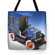 Police Peddle Car Tote Bag by Mike McGlothlen