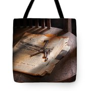 Police - The Wardens Keys Tote Bag by Mike Savad