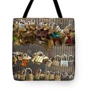 Pont des Artes Tote Bag by Nomad Art And  Design