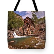 Pool Below The Mill Tote Bag by Adam Jewell
