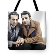 Poor Old Things Tote Bag by Eldad Carin