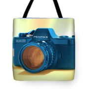 Pop Art 110 Pentax Tote Bag by Mike McGlothlen
