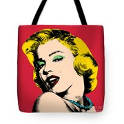Pop Art Tote Bag by Mark Ashkenazi