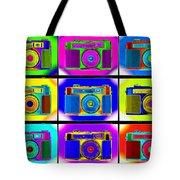 Pop Art Robin Proofs Tote Bag by Mike McGlothlen