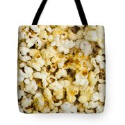 Popcorn - Featured 3 Tote Bag by Alexander Senin