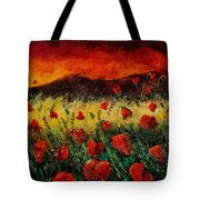 Poppies 68 Tote Bag by Pol Ledent