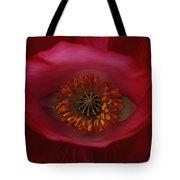 Poppy's Eye Tote Bag by Barbara St Jean