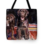 Porch Light Tote Bag by Molly Poole
