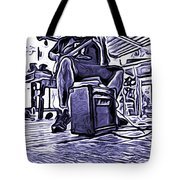 Porch Pickin Tote Bag by Bartz Johnson
