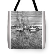Reflections of Port Orchard Washington Tote Bag by Jack Pumphrey