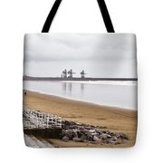 Port Talbot Steelworks Tote Bag by Tom Gowanlock