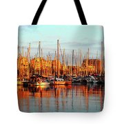 Port Vell - Barcelona Tote Bag by Juergen Weiss