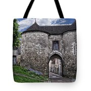 Porte Saint-jean Tote Bag by Nikolyn McDonald