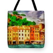 Portofino I Tote Bag by George Rossidis